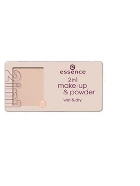 Fond de Teint Poudre ESSENCE 2in1 Make-Up & Powder, Wet & Dry n°20 Natural Nude