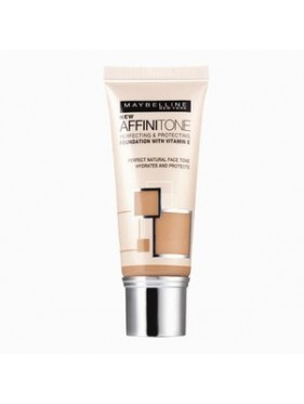 Fond de Teint Liquide Tube Affinitone Gemey Maybelline n°03 Light Sand