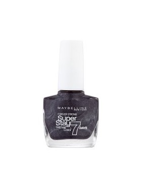 Vernis à Ongles Gemey Maybelline SuperStay 7 jours n°815 Carbon Grey