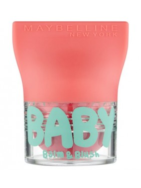 Maybelline Baby Lips Balm And Blush 01 innocent peach lot de 2