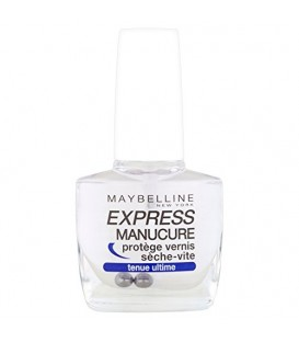 Maybelline - Express Manucure - Vernis à ongles soins - Protège Vernis Sèche Vite top coat