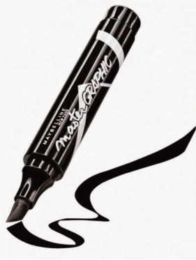 Eye Liner GEMEY MAYBELLINE Master Graphic Noir