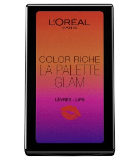 L'Oréal Paris Make Up Designer Color Riche Palette de Maquillage Lèvres, Edition Limitée Eté