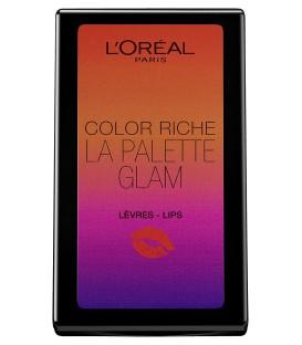 L'Oréal Paris Make Up Designer Color Riche Palette de Maquillage Lèvres, Edition Limitée Eté