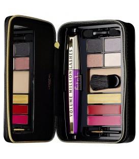 L'Oréal Paris Make Up Designer Coffret de Maquillage Extravaganza, Teint/Yeux/Lèvres
