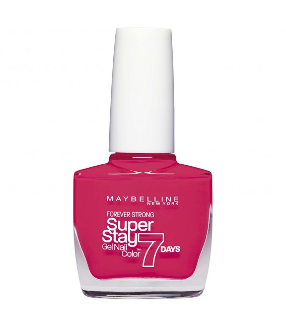 maybelline New York Fond de teint Superstay nailpolish Forever Strong 7 days Finition Gel Vernis à Ongles