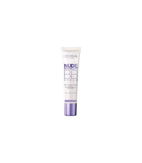 Nude Magic BB Creme L'OREAL peau clair
