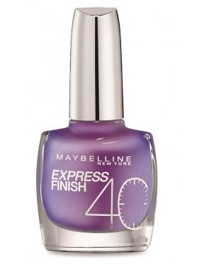 Vernis à Ongles Gemey Maybelline Express Finish n°250 VIOLET PROFOND