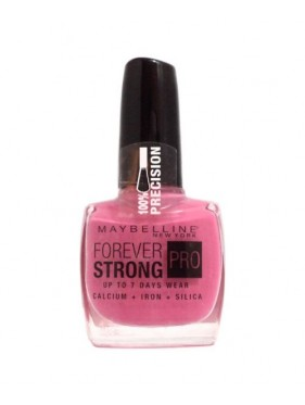 Vernis à Ongles Gemey Maybelline Forever Strong n°170 FLAMANT ROSE