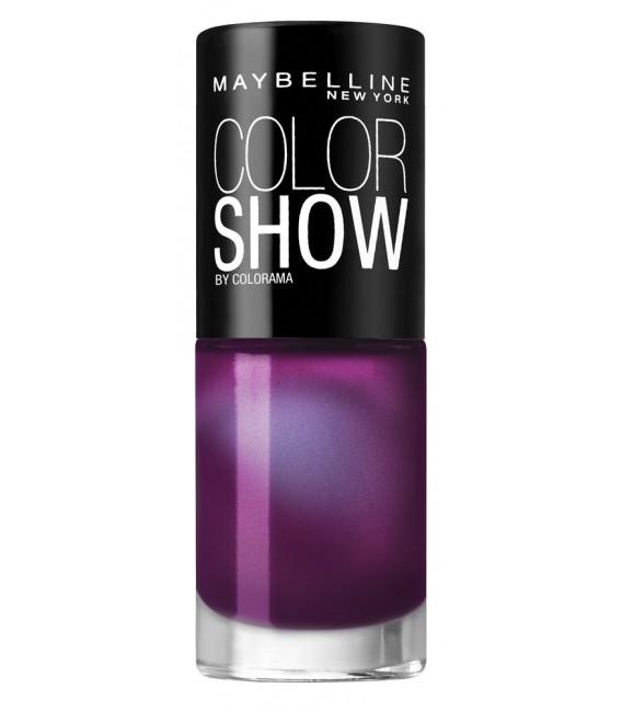 Vernis à Ongles Gemey Maybelline Color Show n°553 PURPLE GEM
