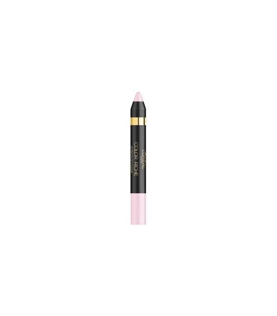 Ombre a Paupière L'Oréal Color Riche Le Crayon de Couleur n°08 Baby Pink