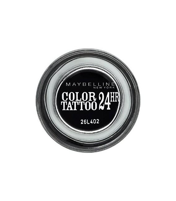 Ombre à Paupière GEMEY MAYBELLINE Color Tatoo n°60 TIMELESS BLACK