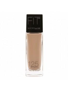 Fond de Teint Liquide GEMEY MAYBELLINE Fit Me n°125 Nude Beige