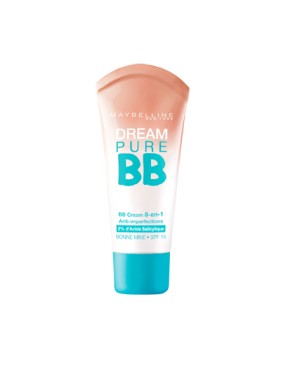 BB Creme 8en1 Dream Pure BB GEMEY MAYBELLINE Teinte Foncée