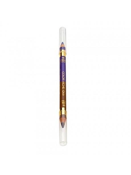 Crayon L'Oréal Color Riche Duo Yeux et Sourcils n°15 Ultra Violet - 01 Moyen
