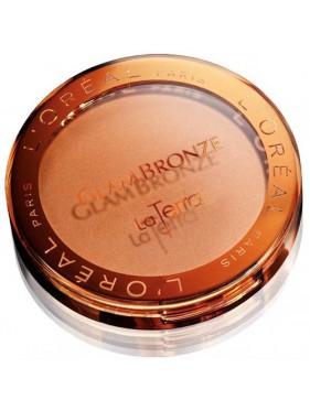 Poudre Compact L'OREAL Glam Bronze La Terra n°01 Portofino Leggero