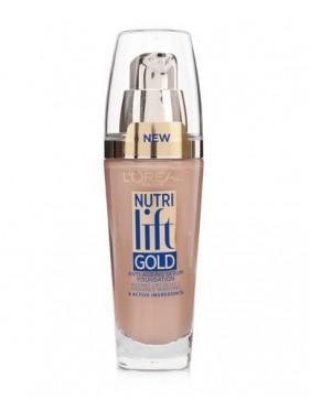 Fond de Teint Liquide L'OREAL Nutri Lift Gold n°370 Capuccino