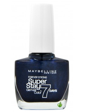 Vernis à Ongles Gemey Maybelline SuperStay 7 jours n°650 Midnight Blue