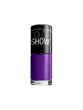 Vernis à Ongles Gemey Maybelline Color Show n°216 Plum Paradise