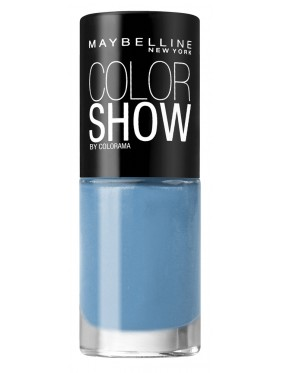 Vernis à Ongles Gemey Maybelline Color Show n°283 Babe Its Blue