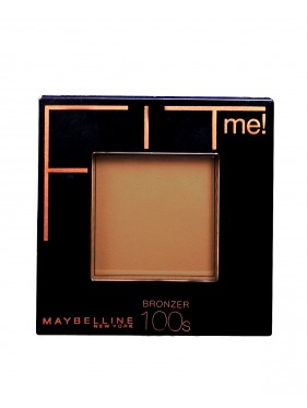 Poudre Compacte Terra Bronzer GEMEY MAYBELLINE Fit Me n°100S LIGHT