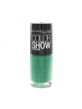 Vernis à Ongles Gemey Maybelline Color Show n°217 Tenacious Teal