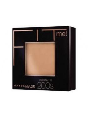 Poudre Compacte Terra Bronzer GEMEY MAYBELLINE Fit Me n°200S MEDIUM