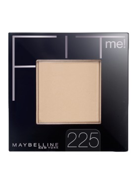 Poudre Compacte GEMEY MAYBELLINE Fit Me n°225 MEDIUM BUFF