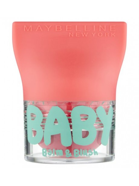 Maybelline Baby Lips Balm And Blush 01 innocent peach