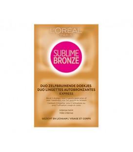 Duo de Lingettes Autobronzantes - Sublime Bronze de L'Oréal Paris