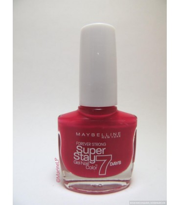 Vernis à Ongles Maybelline SuperStay n°180 Rose Fuschia