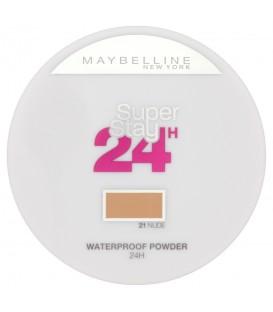 Poudre Waterproof Super Stay 24hr 21 Nude - Maybelline