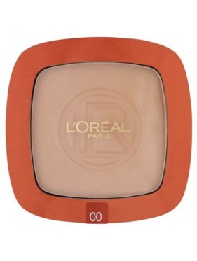 Poudre Compact L'OREAL Glam Bronze Terre de Soleil n°00 Soleil Blond