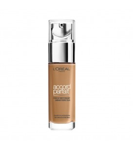 Accord Parfait Fond de Teint Fluide Unifiant Caramel Doré (6,5.D) 30 ML - L'Oréal Paris Make Up Designer
