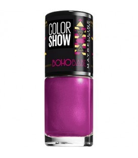 Vernis à Ongles Gemey Maybelline Color Show n°461 Guru Purple