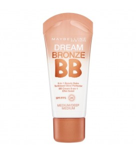 Gemey-Maybelline - Dream Bronze BB Cream - BB crème liquide - foncé 8 en 1