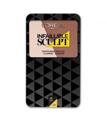 Palette Contouring INFAILLIBLE SCULPT - 01 Claire