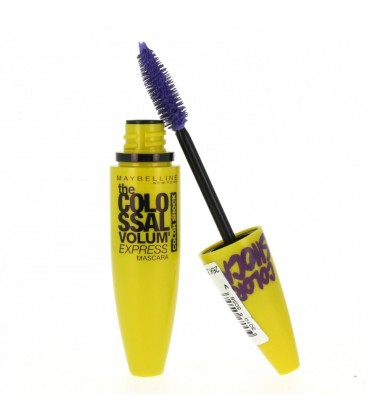 Gemey Maybelline Mascara Colossal Color Shock - Turquoise Electric