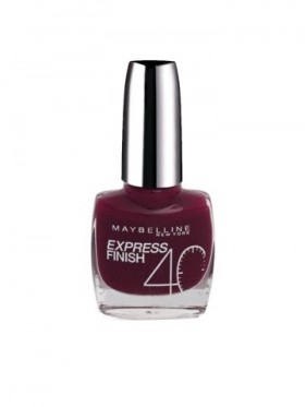 Vernis à Ongles Gemey Maybelline Express Finish n°310 PRUNE ACIDULE