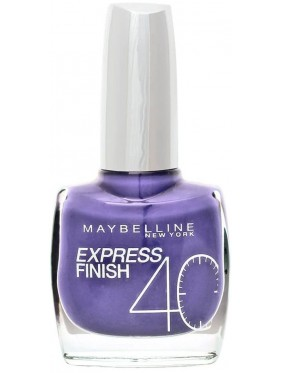 Vernis à Ongles Gemey Maybelline Express Finish n°869 EXOTIC VIOLET