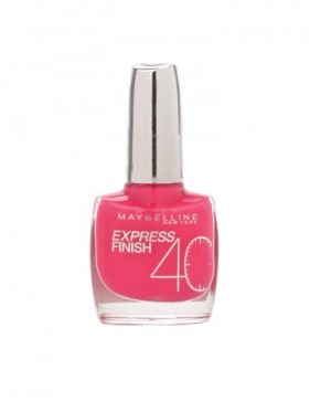 Vernis à Ongles Gemey Maybelline Express Finish n°155 FUCHSIA