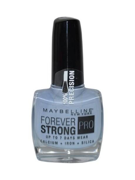 vernis ongles gemey maybelline forever strong n 610 bleu ceramique. Black Bedroom Furniture Sets. Home Design Ideas