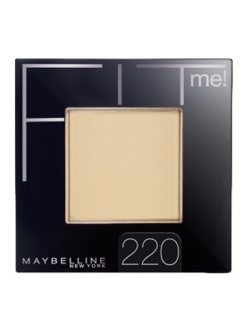 Poudre Compacte GEMEY MAYBELLINE Fit Me n°220 Natural Beige