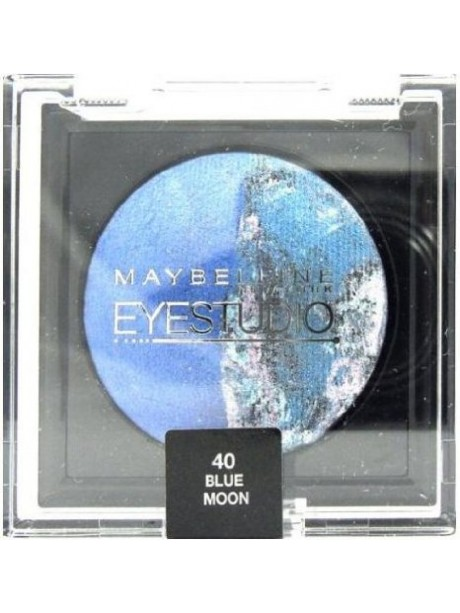Ombre à Paupière GEMEY MAYBELLINE Eyestudio Color Cosmos n°40 BLUE MOON