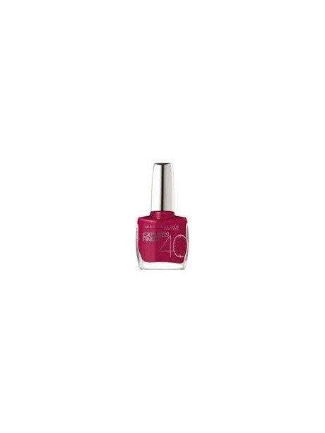 Vernis à Ongles Gemey Maybelline Express Finish n°165 FUCHSIA PERLE