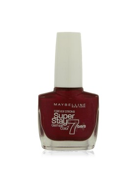 Vernis à Ongles Gemey Maybelline SuperStay 7 jours n°09 Rouge Volcanique